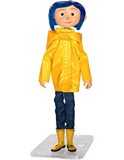 Amazon Com Neca Coraline Articulated Figure Coraline In Rain Coat Toys Games