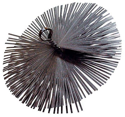 Chimenea anillo redondo Ø cepillo de acero de 15 cm e hilo 12 MA OEM