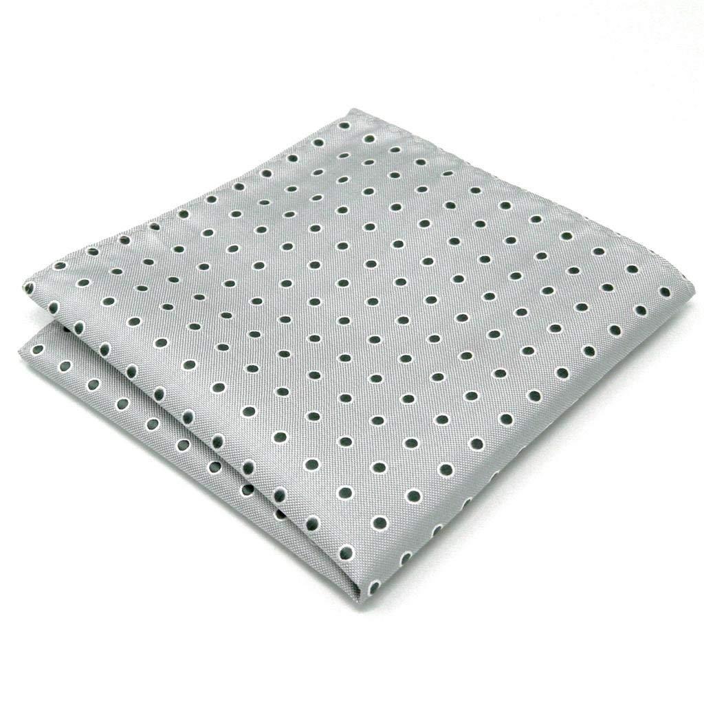 Shlax/&Wing 5 Pieces Assorted Mens Pocket Square Handkerchiefs Set