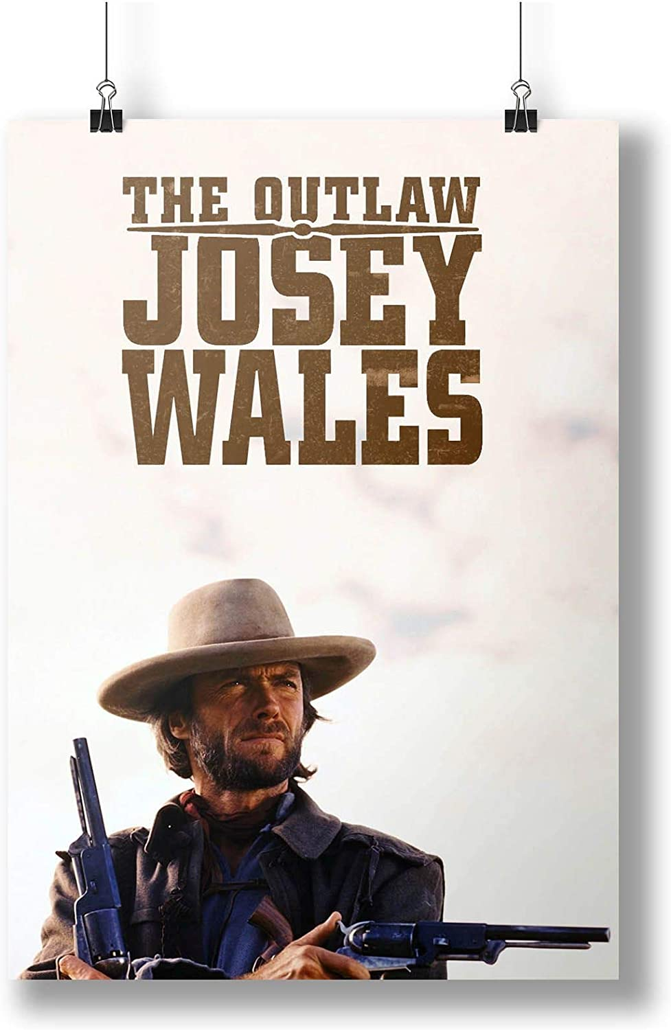 INNOGLEN 1976 The Outlaw Josey Wales Film Movie A0 A1 A2 A3 A4 Satin Photo Poster p10422h