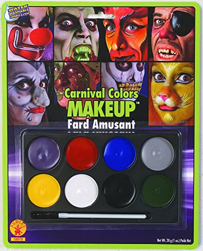 Rubie's Costume Co Carnival Color Makeup Costume (Halloween Costumes And Makeup)