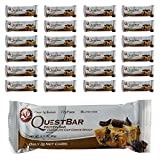 quest bars chip cookie dough - Quest Bar Chocolate Chip Cookie Dough, Low Carb Protein Weight Loss Muscle Building, 2.1 Oz (24-Pack)