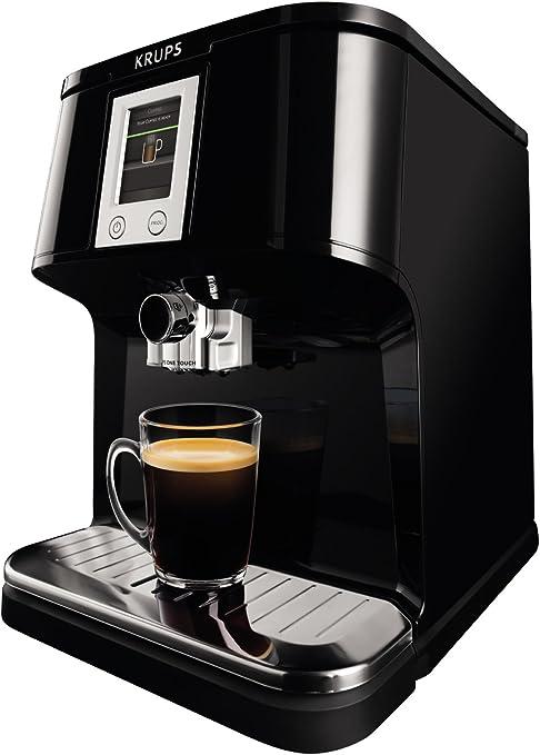 Krups EA850B - Cafetera (Independiente, Negro, Espresso machine ...