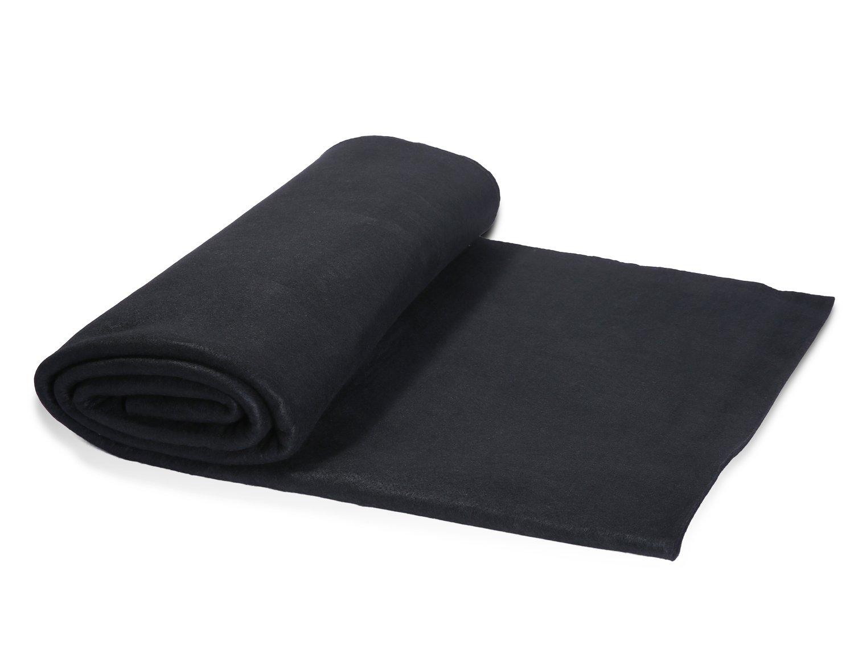 Hansway High Temp 36 X 36 inchs Felt Carbon Fiber Welding Blankets Black (3 x 3 feets) by Hansway