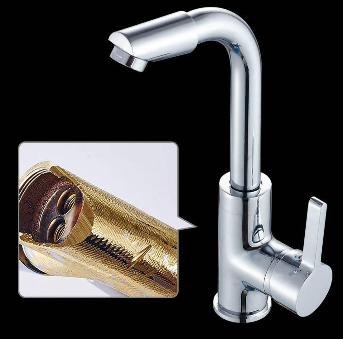 MDRW-Copper cold water faucet, single hole basin faucet by MDRW