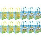 Amazon religious plastic easter eggs toys games jesus loves you religious christian themed treat bags gift bags 6 12 bags negle Choice Image