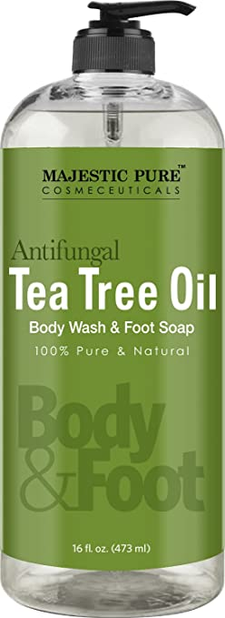 Natural Riches Tea Tree Oil Body Wash Ingredients