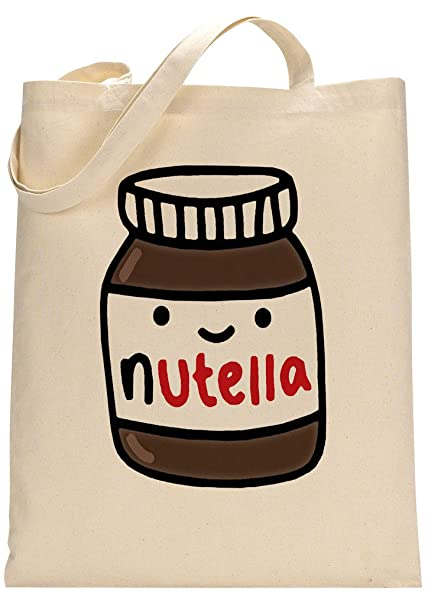 Nutella Lover Custom Made Tote Bag