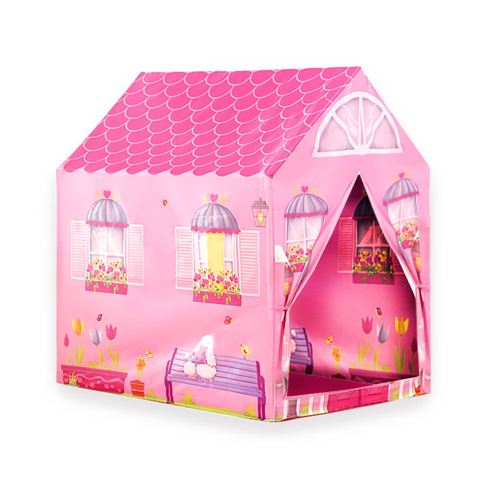 WUBOX Kinderzelt Babyzelt Spielhaus Spielzelt Bällebad Spielhöhle Zeltname:Dinosaur House
