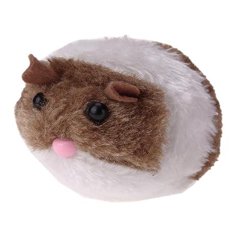 Domybest - Gato de juguete con cadena para tirar de ratón, para mascotas, gatos