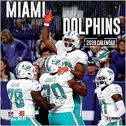 Miami Dolphins 2020 Football Schedule Miami Dolphins 2020 Calendar: Inc. Lang Companies: 9781469368979