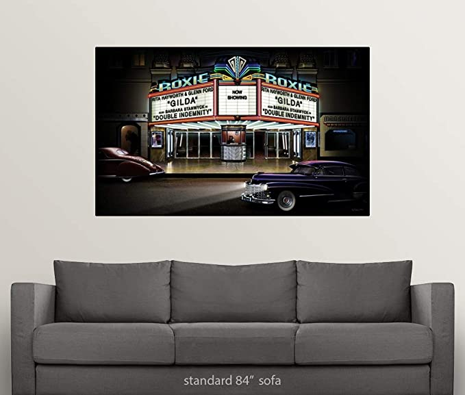 Amazon.com: GREATBIGCANVAS Poster Print Entitled Roxie by ...