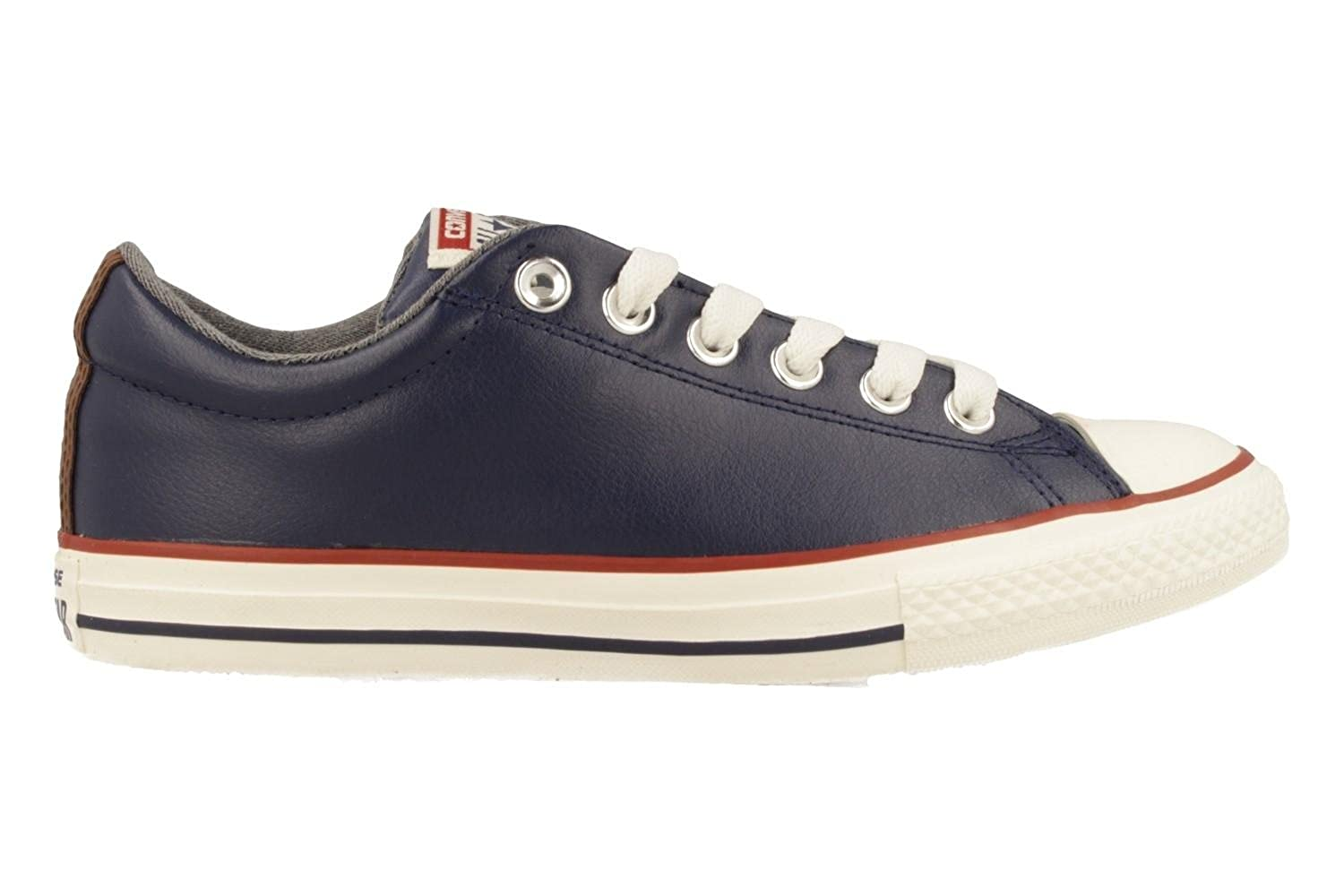 Converse Kids CT All Star Street Slip Leather Trainers
