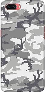 Stylizedd Oppo A3s Slim Snap Basic Case Cover Matte Finish - Artic Camo