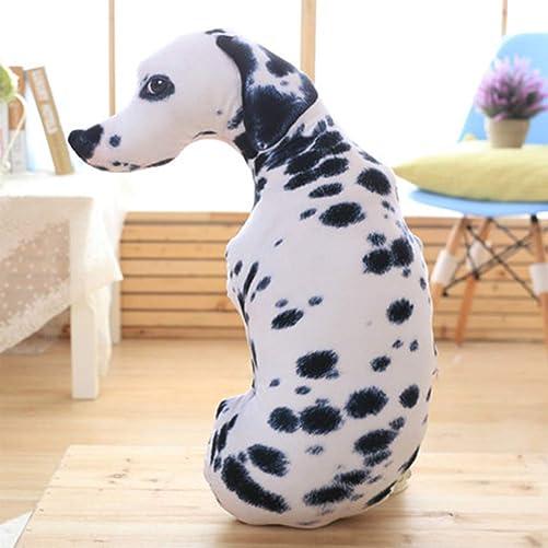 Top Estore 3D Simulation Dog Pillow Creative Funny Office Sofa Car Cushion Type-3, Large