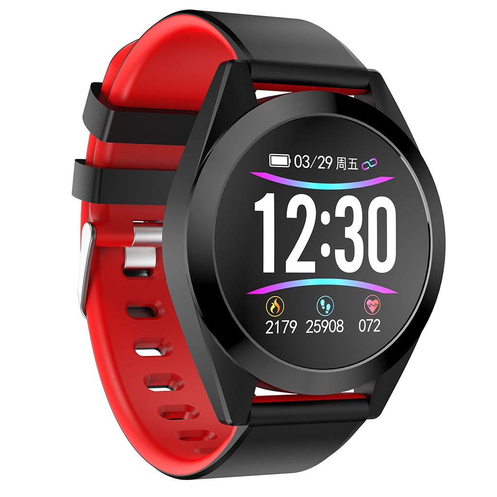 WELCOMEUNI Smart Watch for Android iOS Activity Tracking Sleep Monitoring Calorie Wristband Wear Smart Watch
