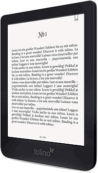 Tolino Shine 3 lectore de e-Book Pantalla táctil 8 GB Negro: Amazon.es: Electrónica