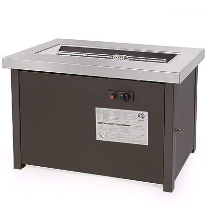 Amazon.com: 9TRADING LPG Fire Pit Outdoor - Calentador ...