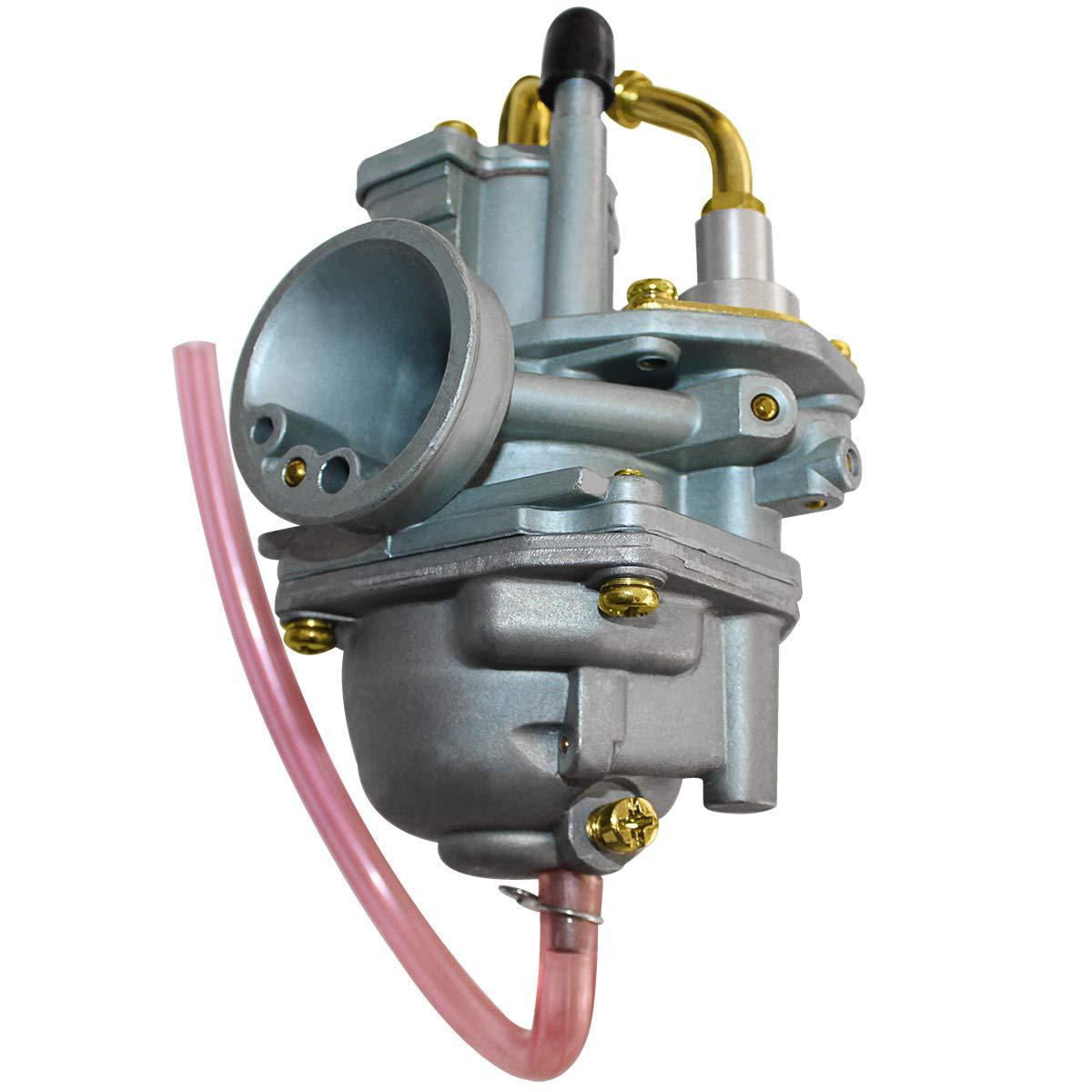 Carburetor Carb Repair Kit Compatible for 2001-2006 Polaris Sportsman 90 ATV Manual Cable Choke