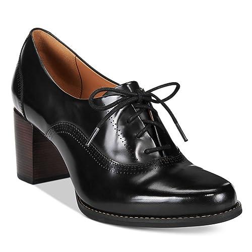 fddad4aeaad Clarks Women s Tarah Victoria Formal Shoe Black Leather Size 12 M ...