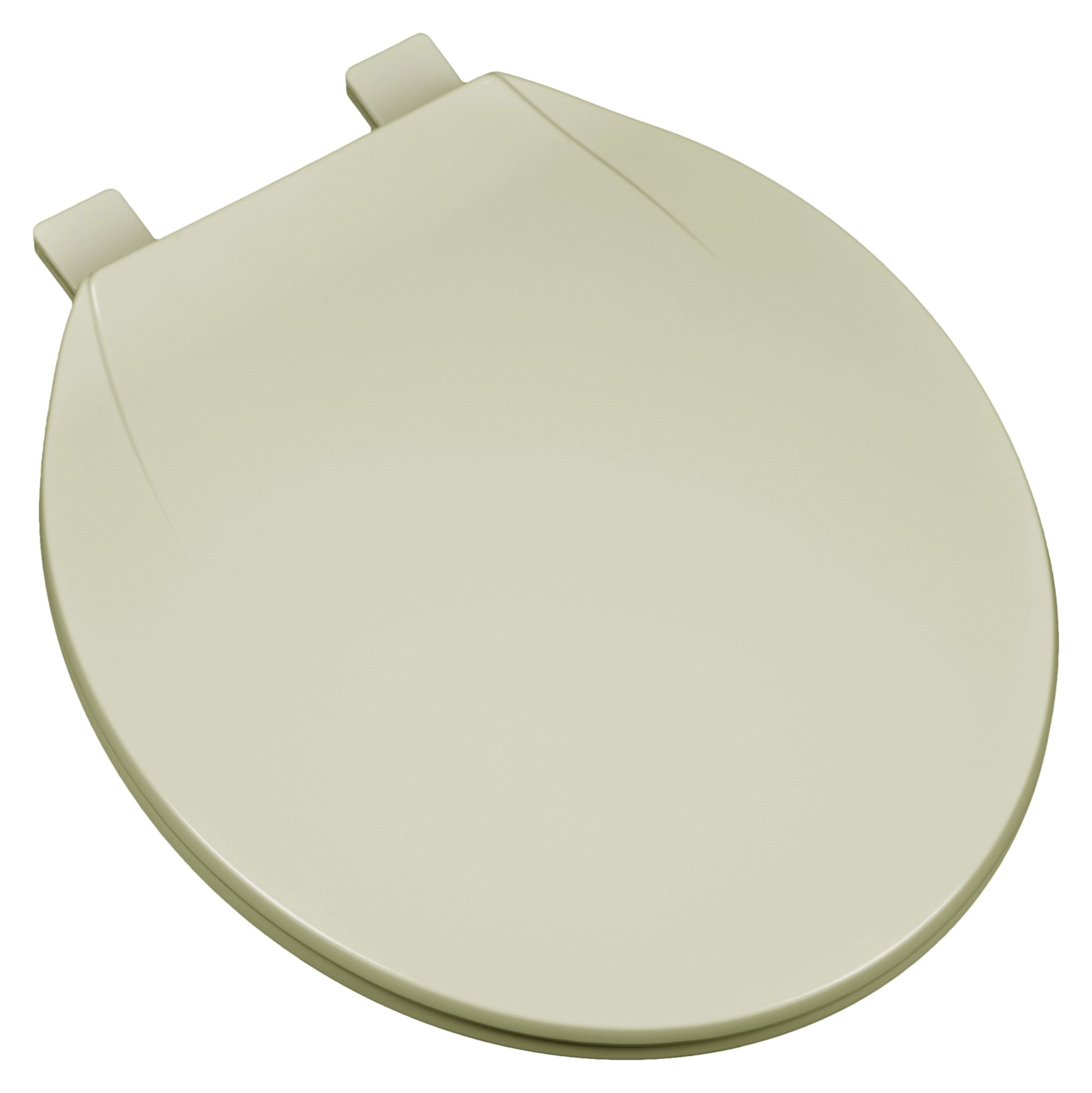 Bath Décor 2F1R4-01 Deluxe Plastic Top Mount Round Toilet Seat with Adjustable Hinge