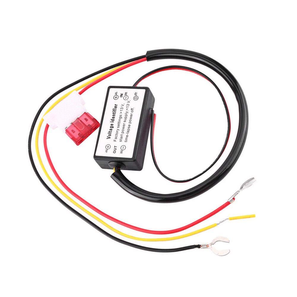 lymty Daytime running light controller,Car LED Daytime Running Light Automatic ON//OFF Controller Module DRL Relay Kits
