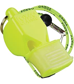 Fox 40 Classic CMG (Cushioned Mouth Grip), Neon