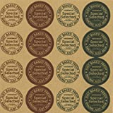 LSW Set of 160 Handmade - Just Baked Fresh Round Stickers [10 sheets of 16 stickers] offers