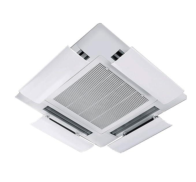 Deflector del Aire Acondicionado para Aire Acondicionado Central en el Techo,ángulo Ajustable,permitiendo Que el Aire frío circule rápidamente en Interiores ...
