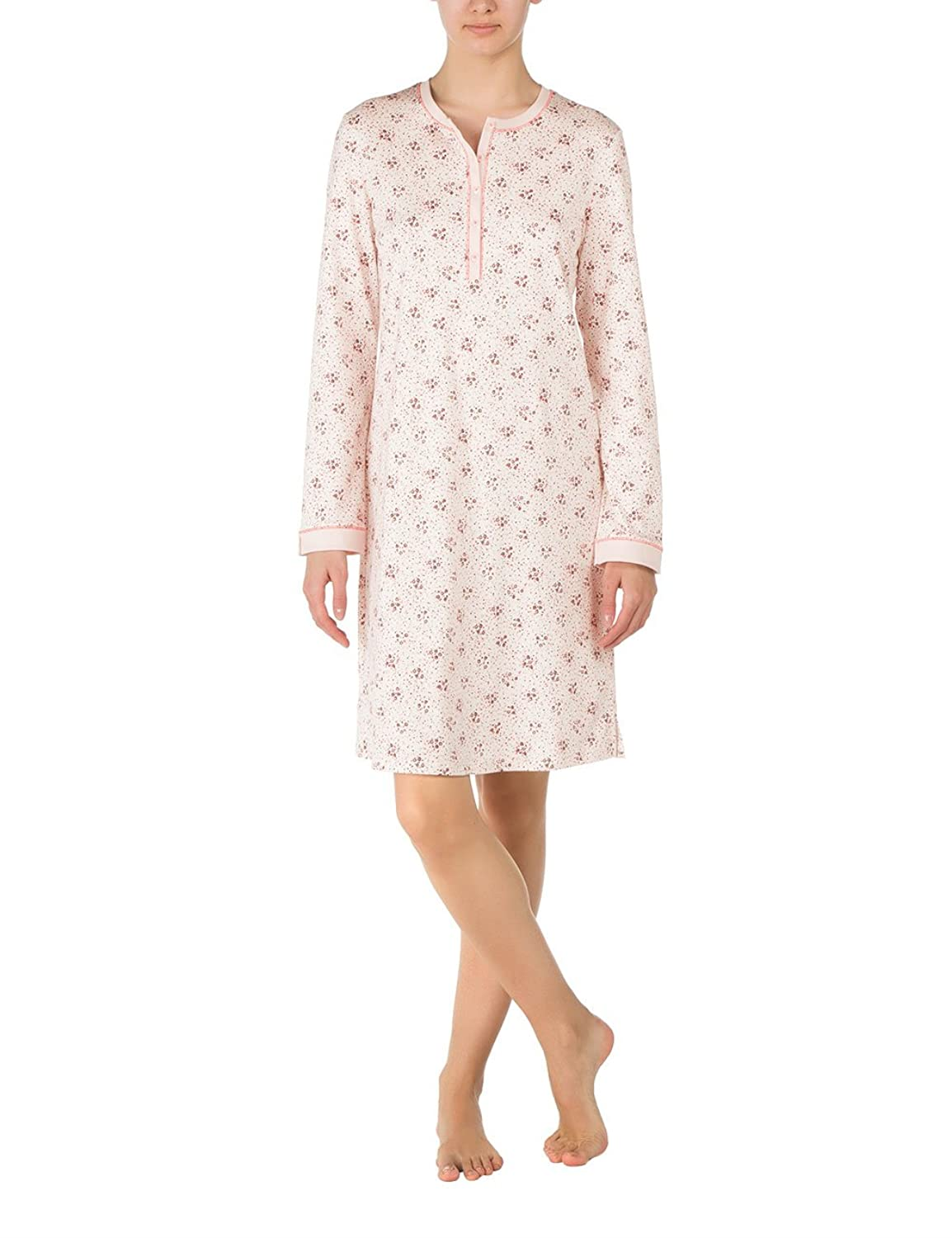 Calida Damen Nachthemd Nightshirt Hollyrose