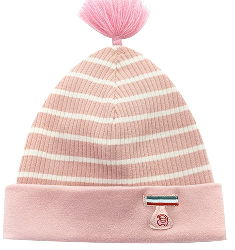 ZEHAT Cotton Newborn Baby Toddler Infant Beanies Hats Boy Girls Soft Cute Winter Warm Kids Knitted Skullies Cap