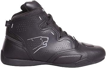 Zapatillas de Moto Bering Jasper Negro-Verde-Camuflaje 43: Amazon.es: Coche y moto