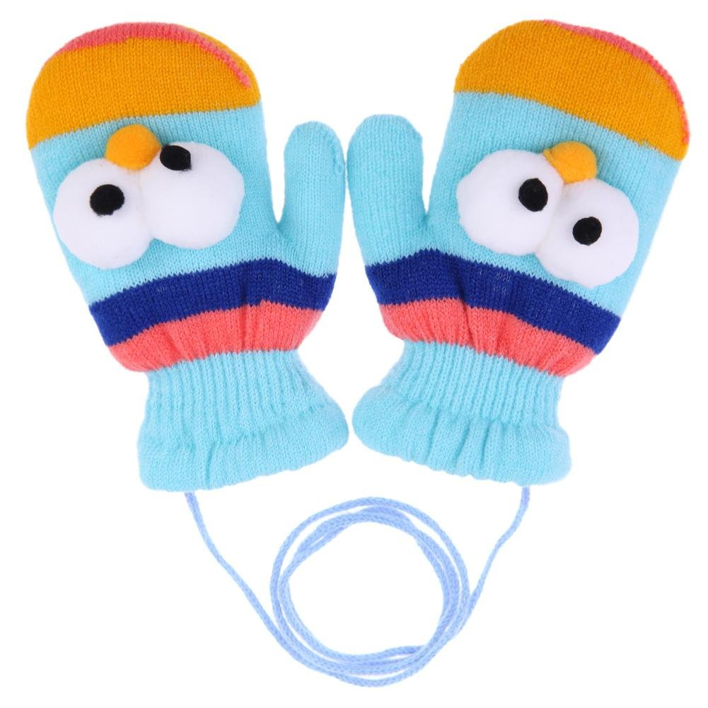 6bba79c5d Domybest Children Kids Boy Girl Warm Gloves Cartoon Pattern Fleece ...