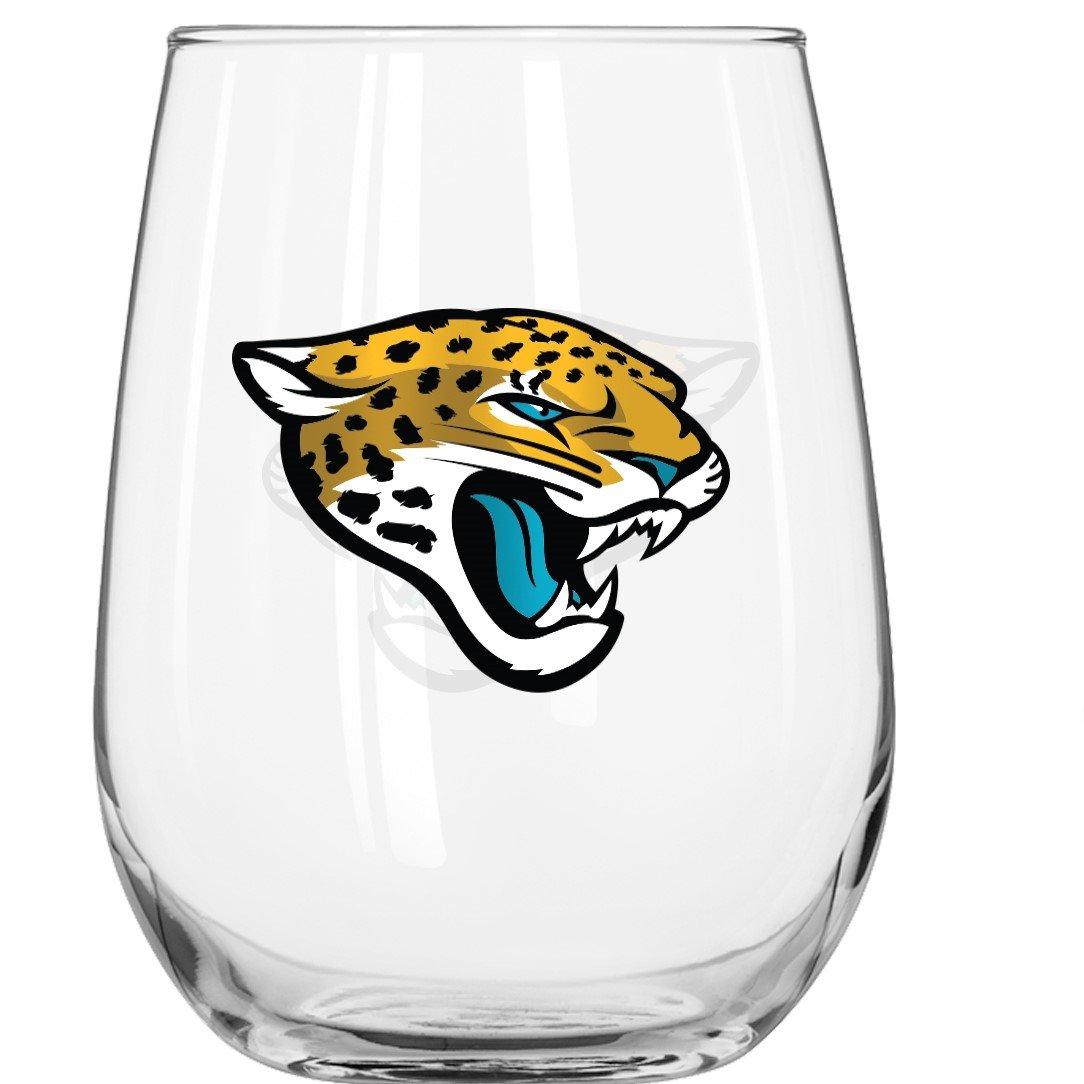 Boelter Brand Jacksonville Jaguars 16 Oz. Curved Beverage Glass
