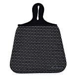 Case New Lightweight Neoprene Auto Trash Bag Sleeve Pouch/Litter Bag/Car Trash Keeper/Garbage Holder/Trash Liner Bag Case& Auto Organizer Storage Bag, Stick Shift Car Garbage Bin- White Dots: more info