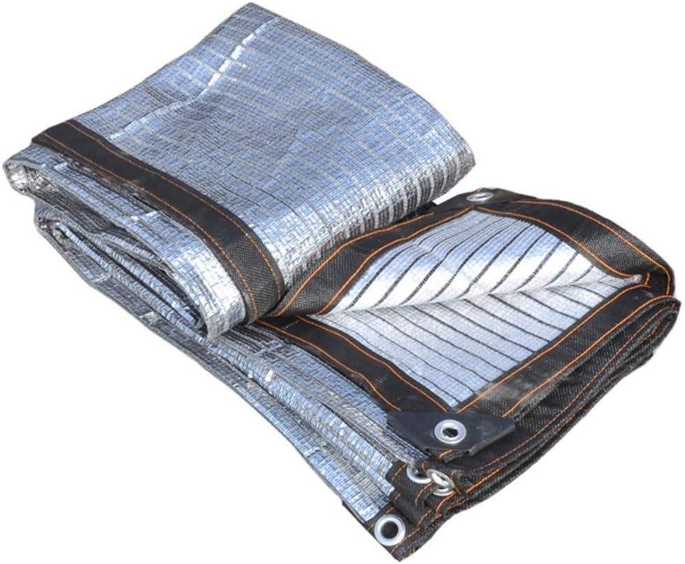 SHADENET Tela de Vela de Papel de Aluminio con protección Solar ...