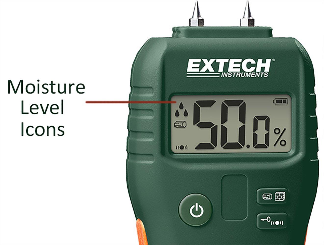 Extech MO53 Pinless Moisture Meter