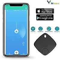 Winnes Smart Finder localizador de rastreo Anti pérdida, Etiqueta Inteligente para teléfono móvil, Cartera, Bolsa para Mascotas con Control de aplicación Compatible con iOS Android 5.0