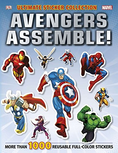 Ultimate Sticker Collection: Marvel Avengers: Avengers Assemble! -