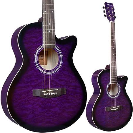 Lindo - Guitarra acústica y accesorios estándar (amatista, color ...