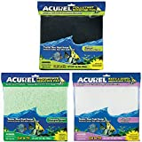 Acurel Infused Media Pads Variety Pack for Aquariums and Ponds (18 in. x 10 in.) - Debris Reducing, Carbon Reducing, and Phosphate Reducing (3 Pack)
