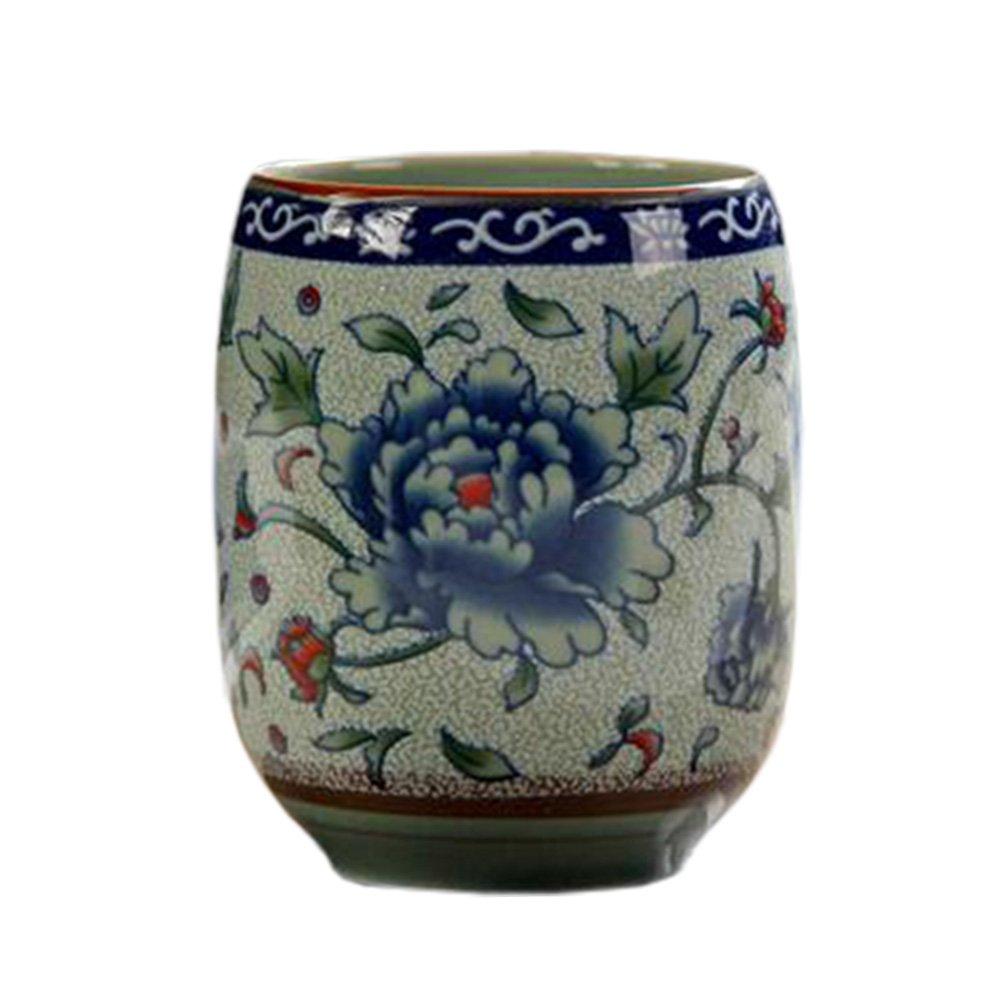 Blancho 2 PCS Tasses à thé en céramique chinoise et japonaise Tasse à bière en tasse à thé Kung Fu Tasse à eau #01 Blancho Bedding