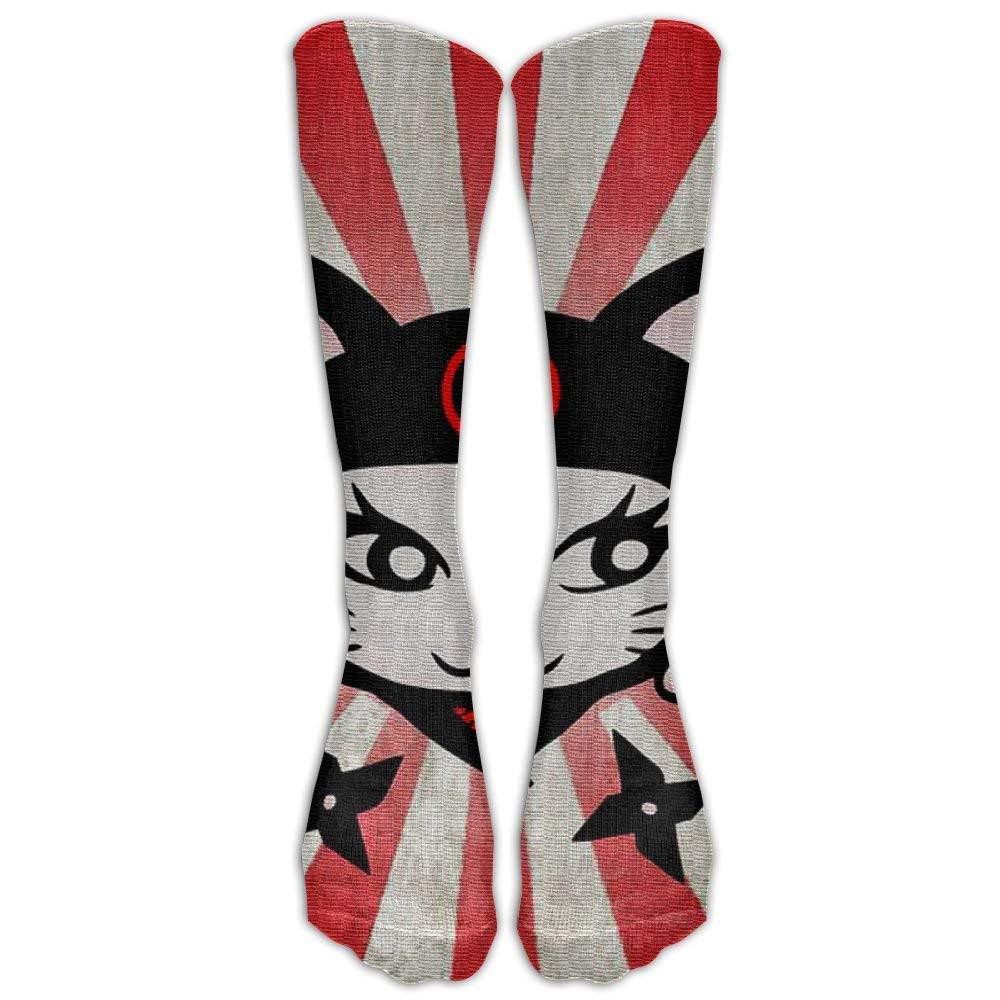 Amazon.com: Ninja Cat Compression Socks Soccer Socks High ...