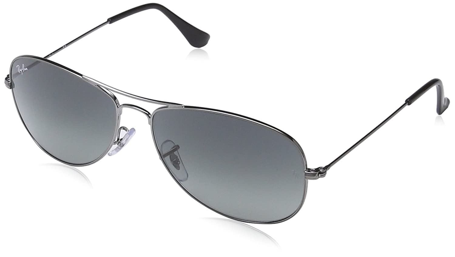ee46f433ff Ray-Ban 3362 004 71 Silver 3362 Cockpit Aviator Sunglasses Lens Category 3   Amazon.co.uk  Clothing