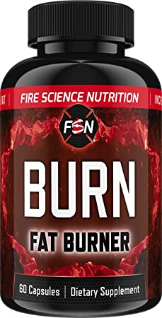 Fire Science Nutrition Fat Burner Weight Loss Pills with Garcinia Cambodia Extract Appetite Suppressant Green Tea Extract Belly Fat Burner While Preserving Muscle 30 Day Supply
