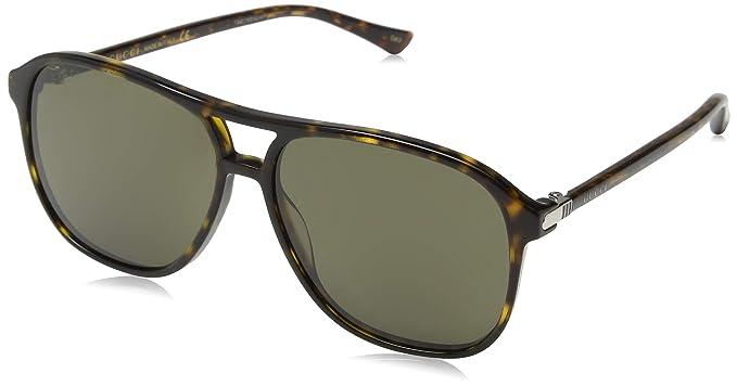 Gucci GG0016S 003, Gafas de Sol para Hombre, Marrón (Avana ...