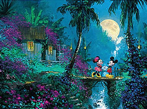 Ceaco Disney Mickey Mouse, Fine Art, Moonlight Proposal Puzz