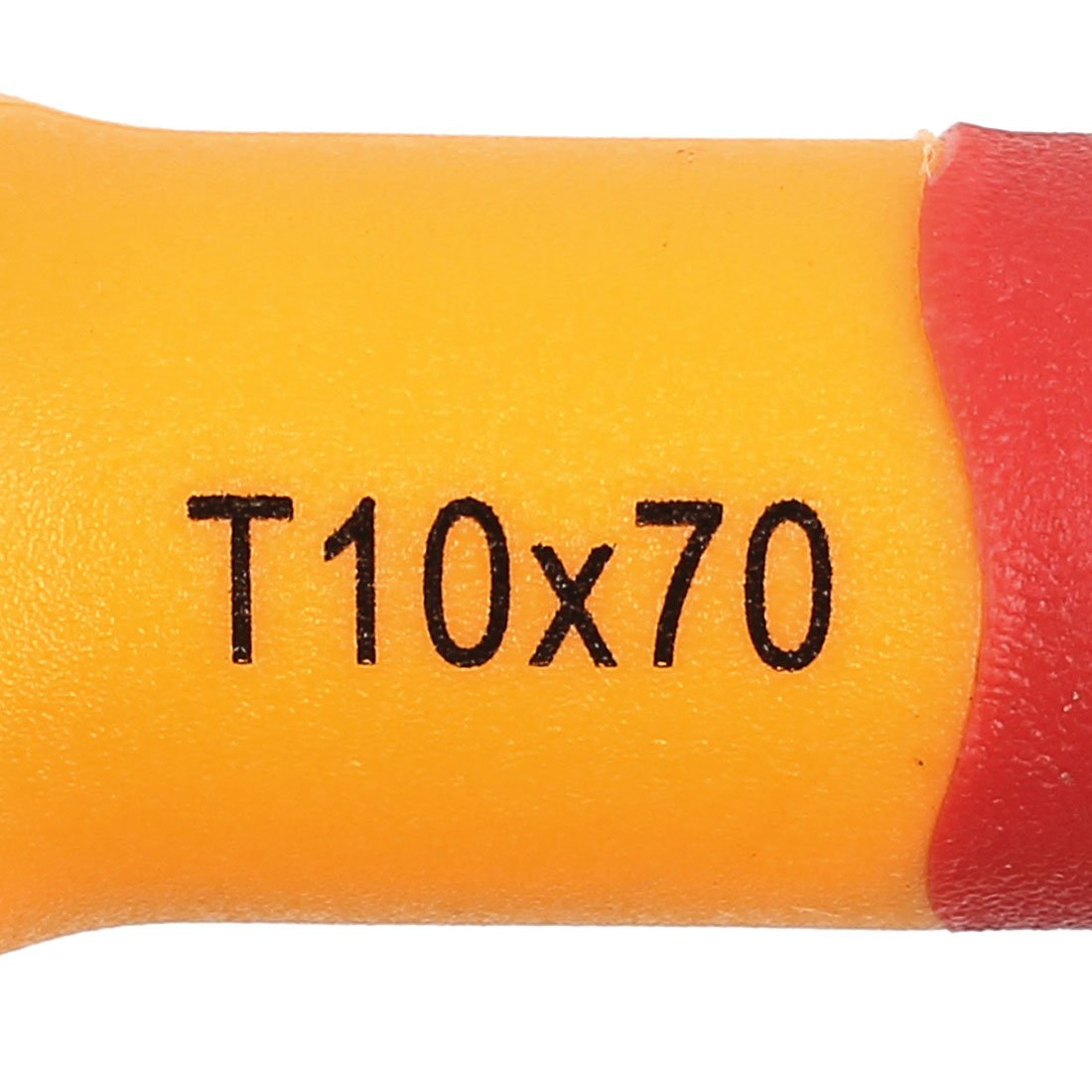 sourcingmap/® BOOHER Autorisiert 1000V 4mm Tip Breite VDE isoliert Schlitzschraubendreher de