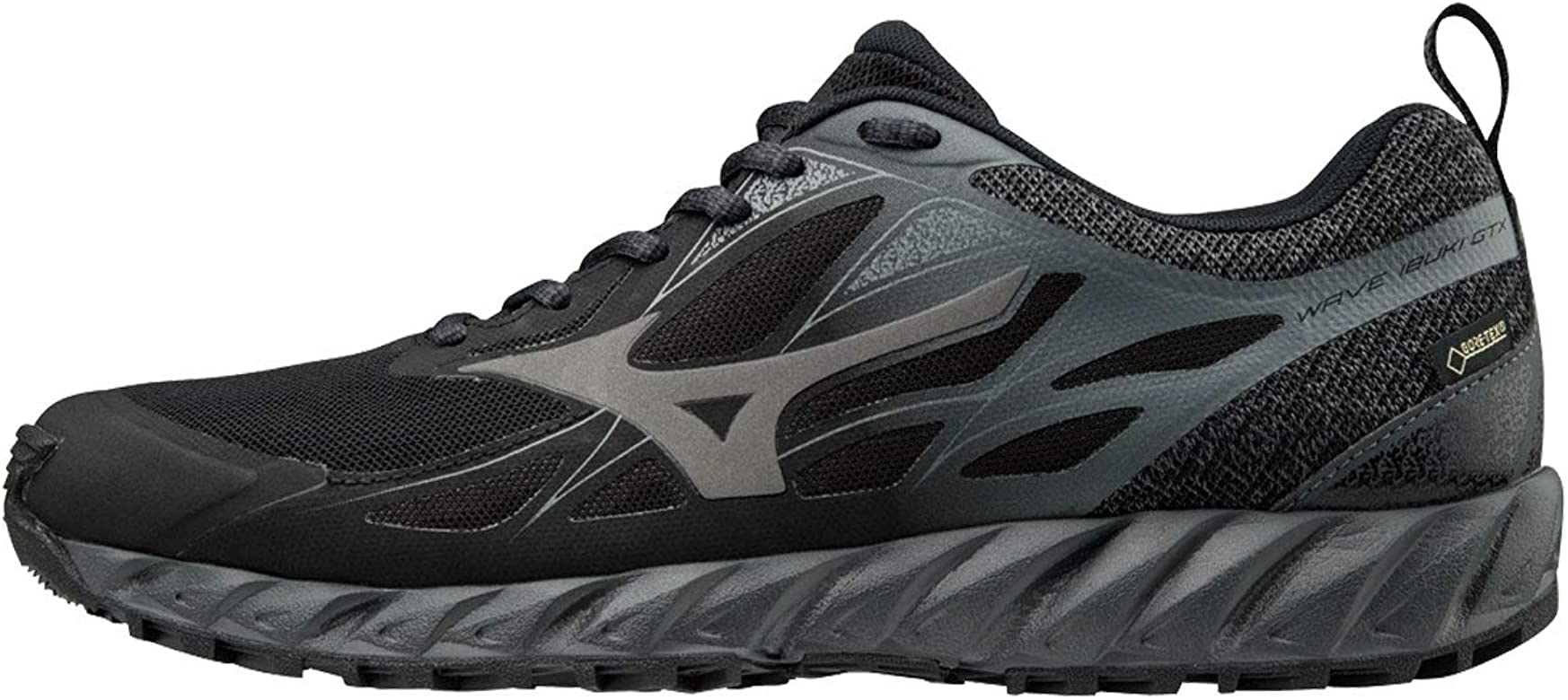 Mizuno Wave Ibuki GTX, Zapatillas para Hombre, Multicolor (Blk/Metalshad/Darkshad 001), 40 EU: Amazon.es: Zapatos y complementos