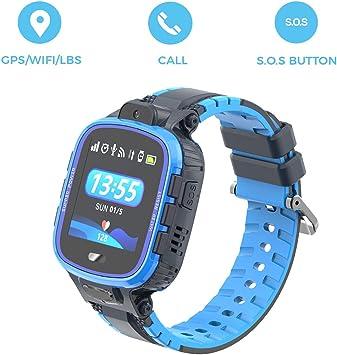 PRIXTON - Reloj GPS niños/Reloj Digital para niños con GPS, Botón ...
